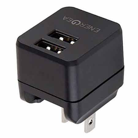 หัวแปลง Energea Wall Charger Travel Lite 2.4A 2 USB ซื้อ-ขาย