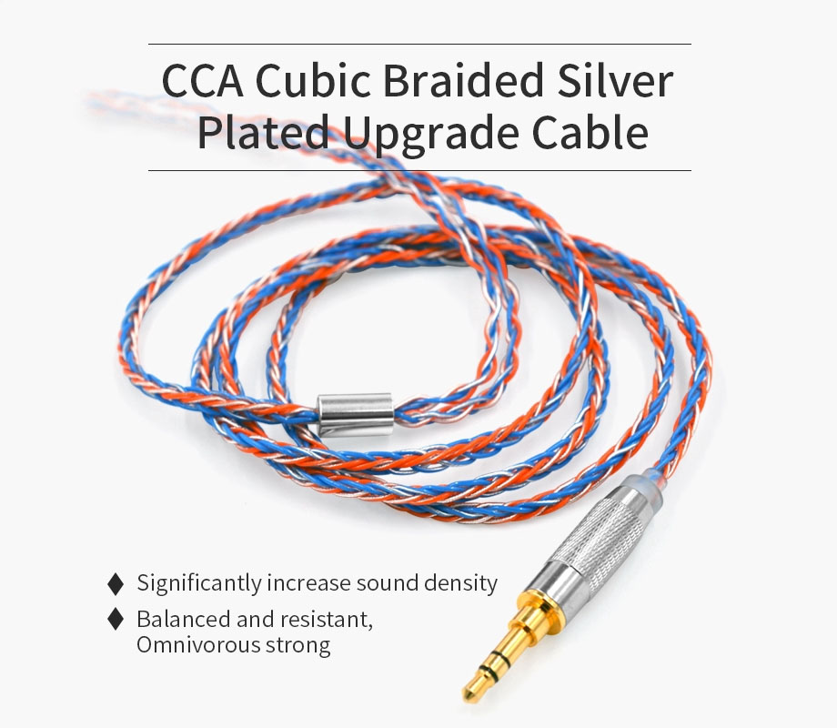 สายอัพเกรด CCA Cubic-Silver 8Core Cable Type B ขายดีไหม