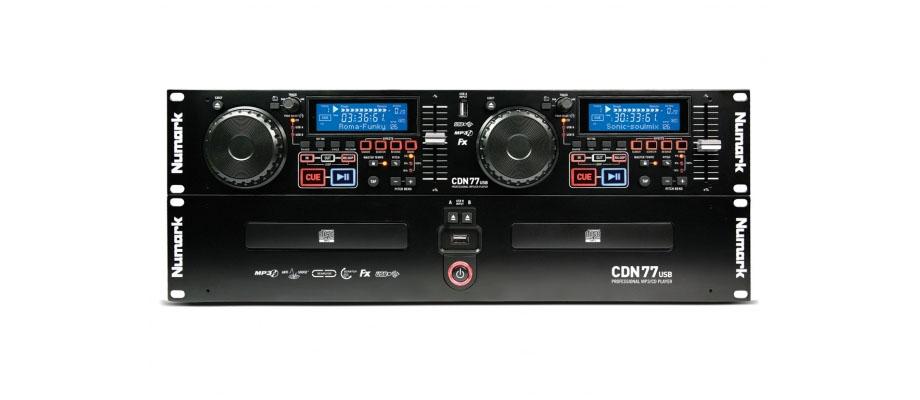 เครื่องเล่น CD Numark CDN77USB รีวิว