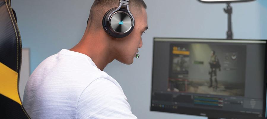 หูฟังไร้สาย Corsair Virtuoso RGB Wireless Headphone สเปค