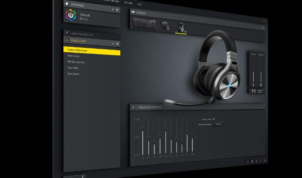 หูฟังเกมมิ่งไร้สาย Corsair Virtuoso RGB Wireless Headphone ซอฟต์แวร์