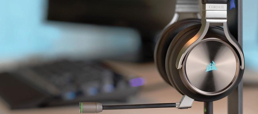 หูฟังไร้สาย Corsair Virtuoso RGB Wireless Headphone รีวิว
