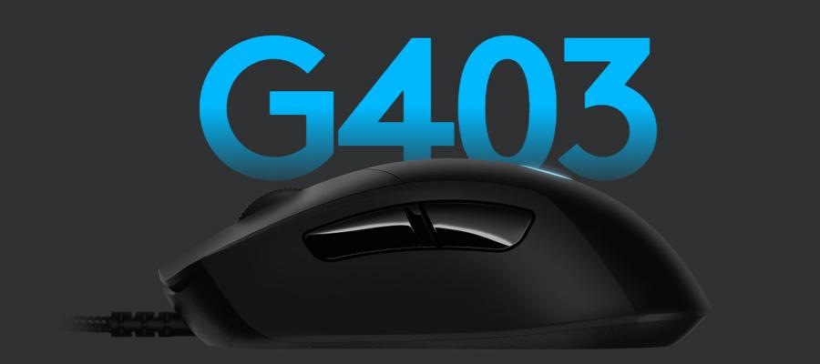 เมาส์ Logitech G403 Hero Gaming Mouse รีวิว
