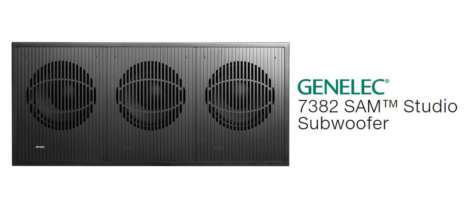 ลำโพง Genelec 7382A Smart Active Subwoofer รีวิว