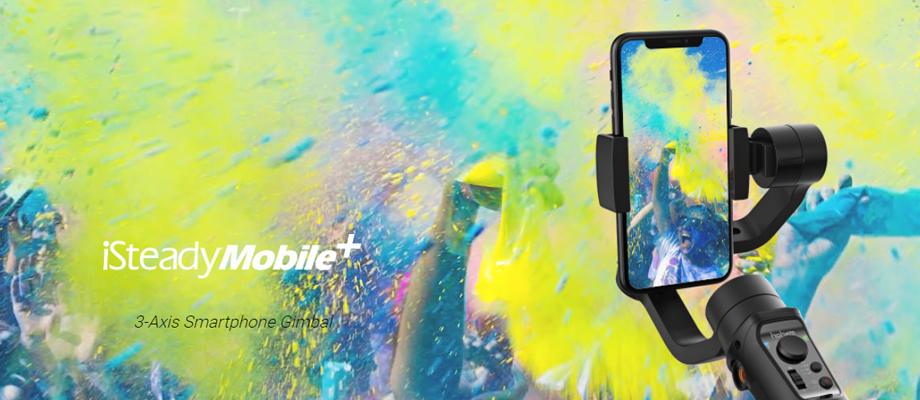 ไม้กันสั่น Hohem iSteady Mobile+ Gimbal for Smartphone รีวิว