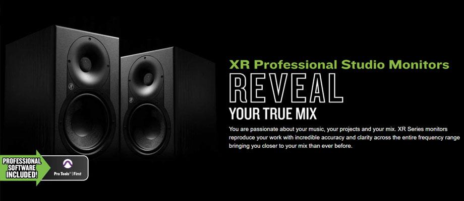 ลำโพง Mackie XR824 Monitor Speakerr รีวิว