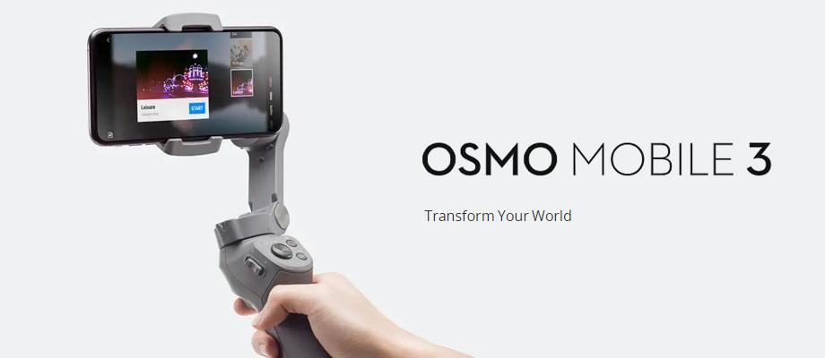 ไม้กันสั่น DJI Osmo Mobile 3 รีวิว
