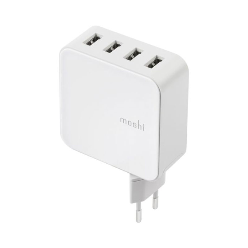 หัวชาร์จ Moshi ProGeo 4-Port USB Wall Charger