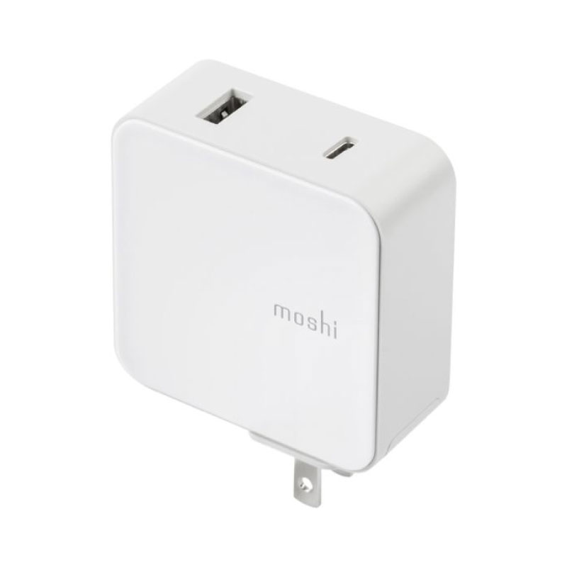 หัวชาร์จ Moshi ProGeo USB-C Wall Charger with USB Port 42W
