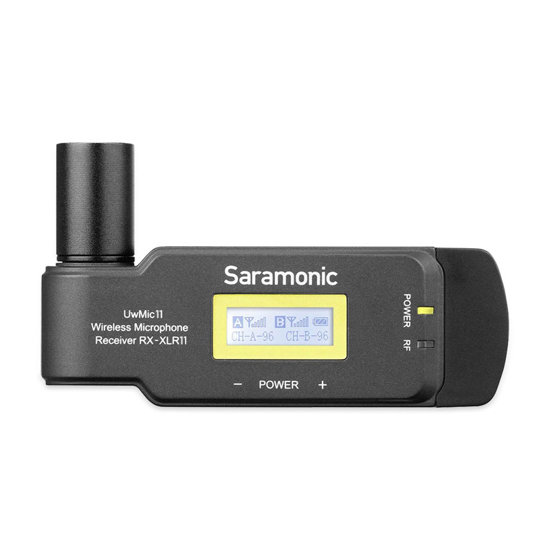 Saramonic UwMic11TH RX-XLR11 XLR Output Receiver for UwMic9 2-CH receiver