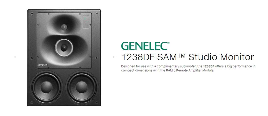 ลำโพง Genelec 1238DF Speaker รีวิว