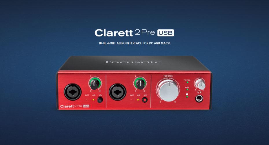 Focusrite Clarett 2Pre USB Interface ราคา