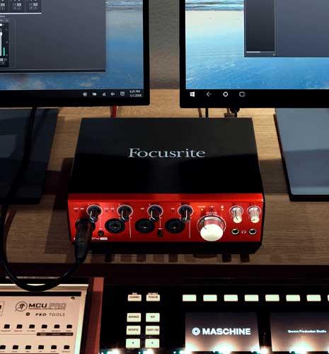Focusrite Clarett 4Pre USB Interface ขายดี