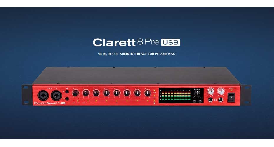 Focusrite Clarett 8 Pre Interface ราคา