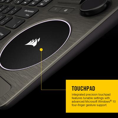 คีย์บอร์ดไร้สาย Corsair K83 Wireless Keyboard ดีไหม
