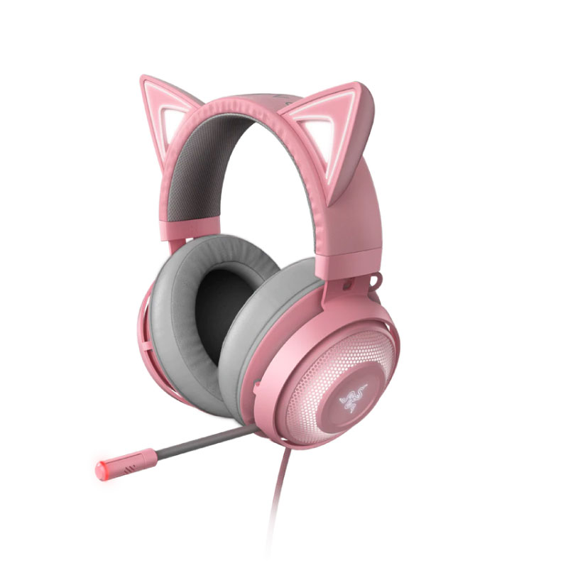 หูฟัง Razer Kraken Kitty Quartz Headphone