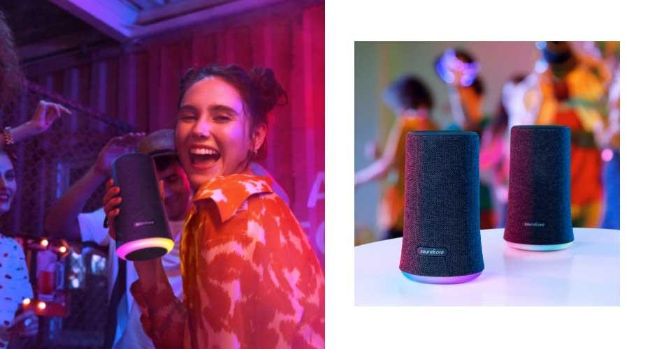 ลำโพงบลูทูธ Anker Soundcore Flare Bluetooth Speaker ขาย