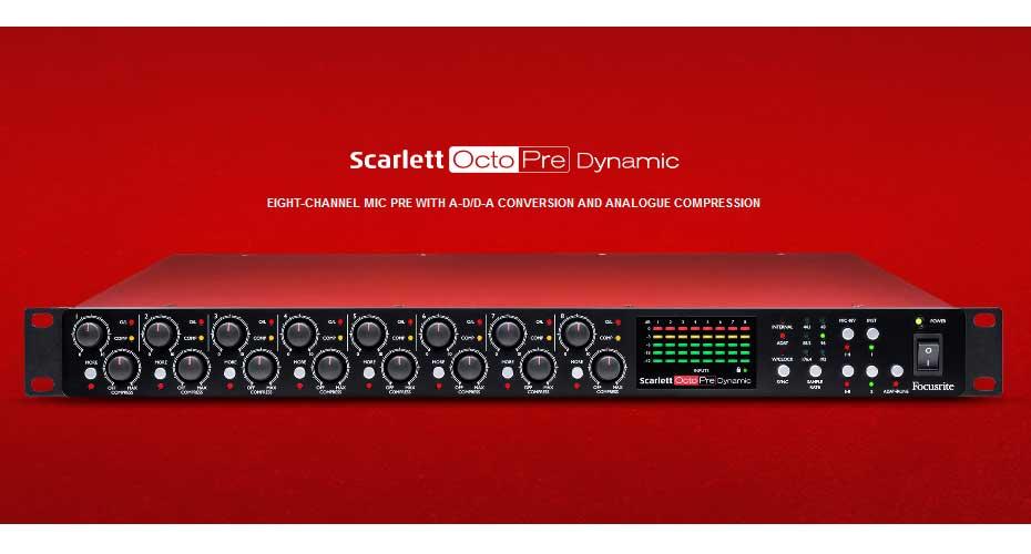 Focusrite Scarlett Octo Pre Dynamic Interface ราคา