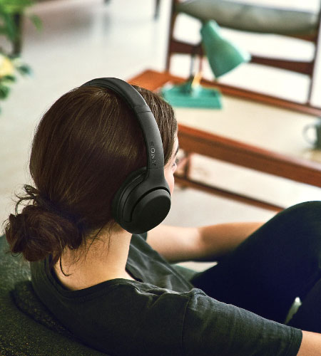หูฟังไร้สาย Sony WH-XB900N Extra Bass Bluetooth Headphone ตัดเสียงเงียบ