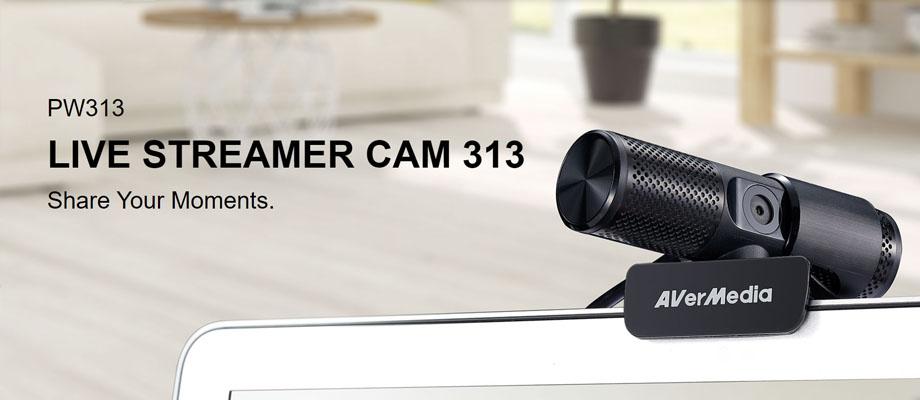 รีวิว กล้อง AverMedia Live Streamer CAM 313
