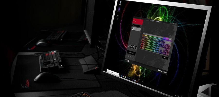 คีย์บอร์ด HyperX Alloy Elite RGB Mechanical Keyboard