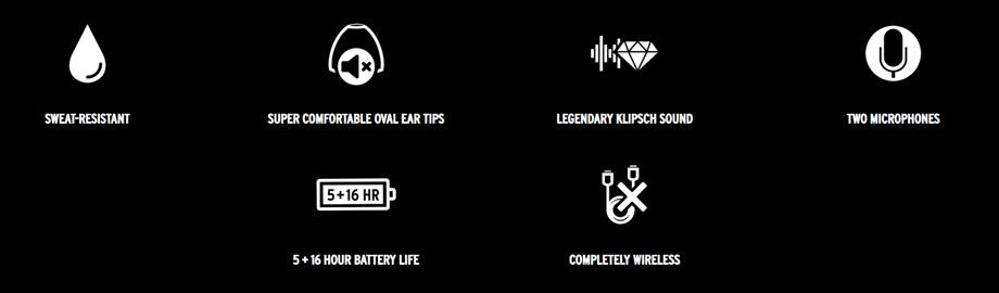 หูฟังไร้สาย Klipsch S1 True Wireless ใช้งาน