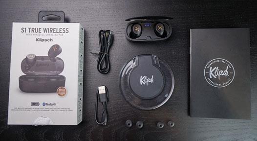 หูฟังไร้สาย Klipsch S1 True Wireless