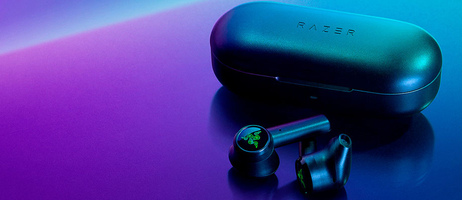 หูฟังไร้สายทรูไวเลส Razer Hammerhead True Wireless