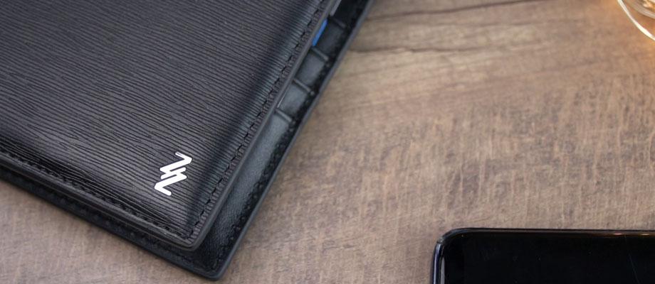 Zace Wallet กระเป๋าสตางค์ Wireless Charging