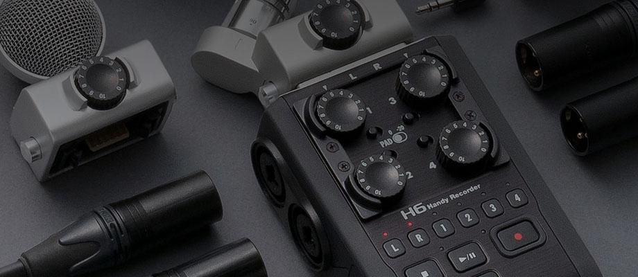 Zoom H6 Handy Recorder เสียง