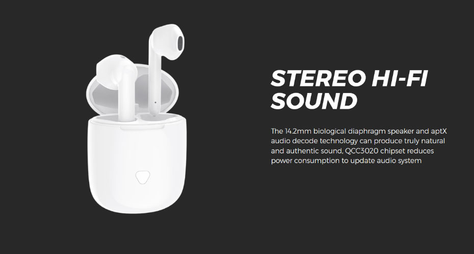 หูฟังไร้สาย SoundPeats TrueAir True Wireless ขาย