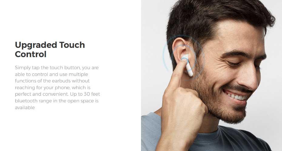 หูฟังไร้สาย SoundPeats TrueAir True Wireless เสียงดี