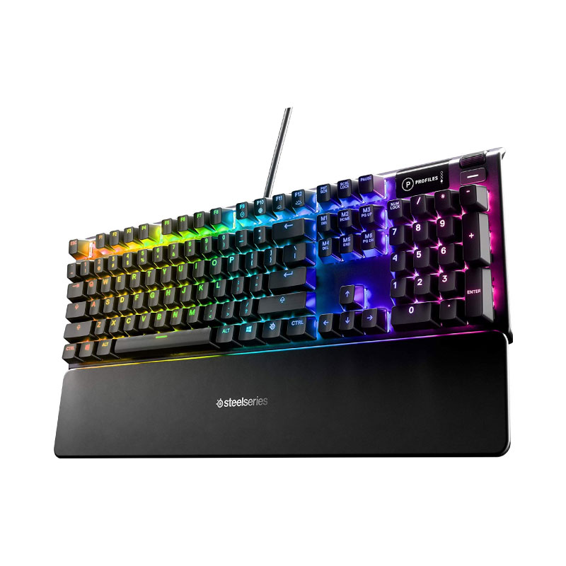 คีย์บอร์ด SteelSeries Apex 5 RGB Mechanical Gaming Keyboard