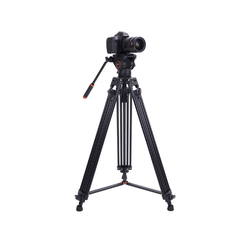 ขาตั้งกล้อง Aifotto CD18 Carbon Fiber Dual Tube Video Tripod