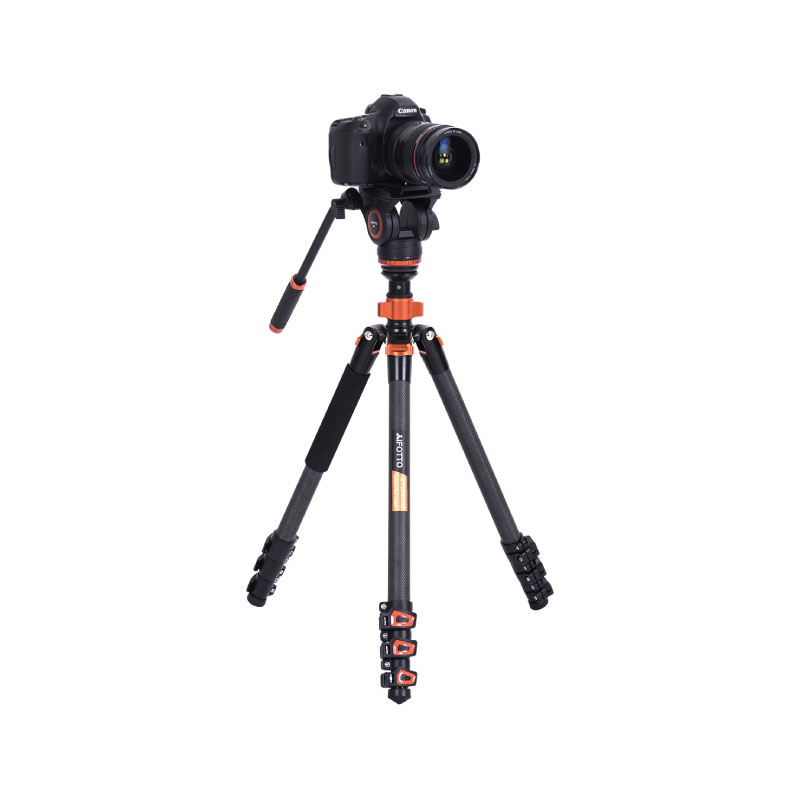 ขาตั้งกล้อง Aifotto Video Tripod Kit Carbon Fiber