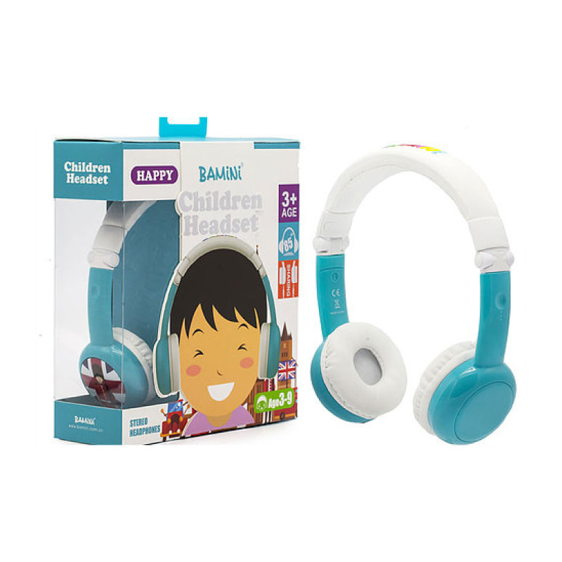 หูฟังไร้สาย Bamini Children Happy Wired Headphone