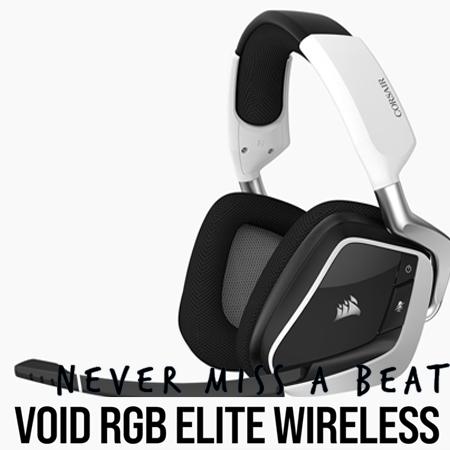 หูฟังไร้สาย Corsair Void RGB Elite Wireless Gaming Headset รีวิว