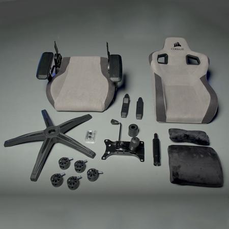 เก้าอี้เล่นเกม Corsair T3 Rush Gaming Chair อุปกรณ์ภายในกล่อง