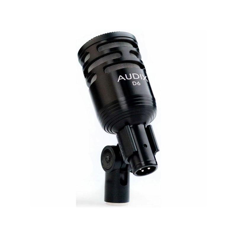 Audix D6 Dynamic Cardioid Kick Drum Microphone