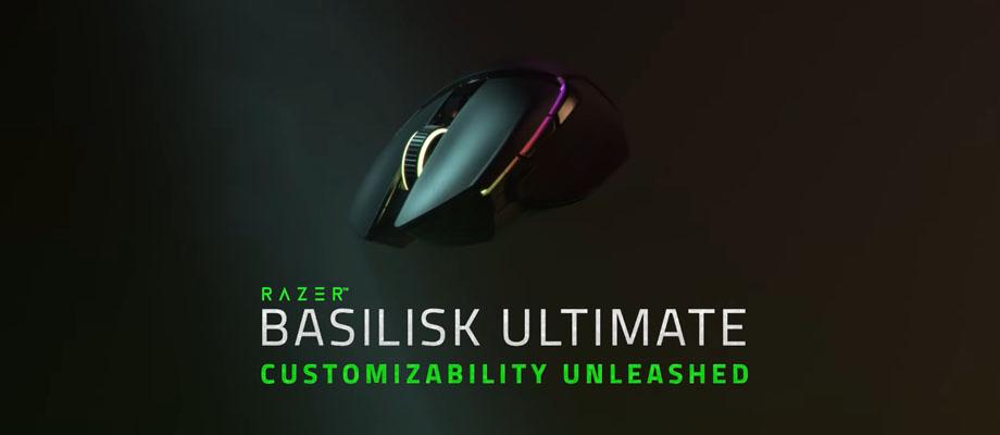 เมาส์ไร้สาย Razer Basilisk Ultimate Wireless Gaming Mouse