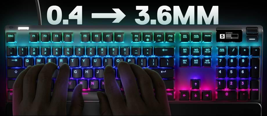 SteelSeries Apex Pro TH Mechanical Keyboard