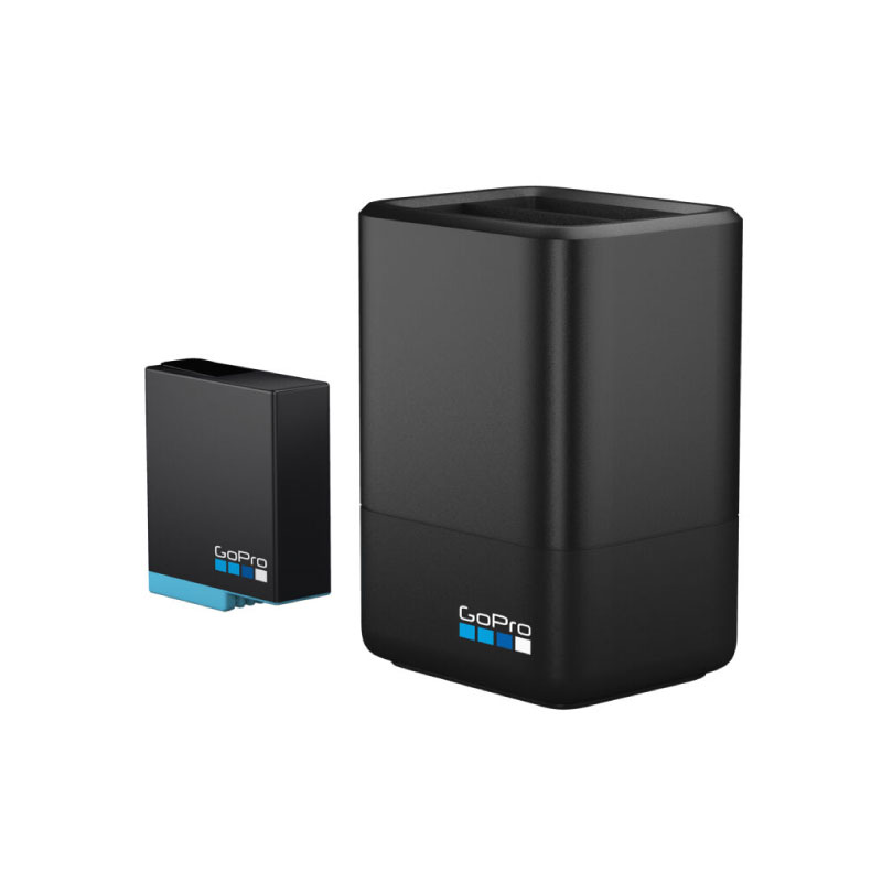 GoPro Rechargeable Dual Battery For Hero 5,6,7,8 Black
