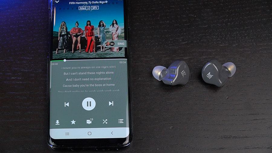 หูฟังไร้สาย KZ S1 True Wireless ขายดี
