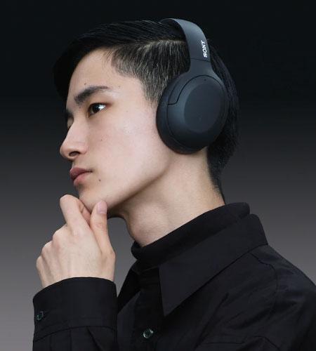 หูฟังไร้สาย Sony WH-H910N Wireless Noise Cancelling Headphone เสียงดี