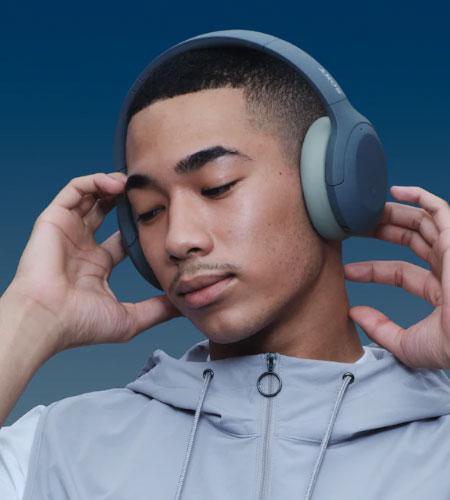 หูฟังไร้สาย Sony WH-H910N Wireless Noise Cancelling Headphone พกพาสะดวก