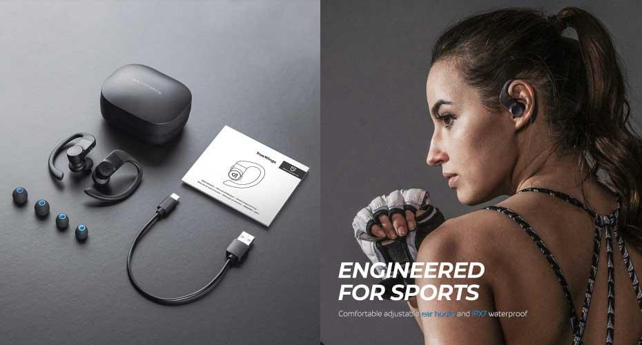 หูฟังไร้สาย SoundPeats TrueWings True Wireless ราคา