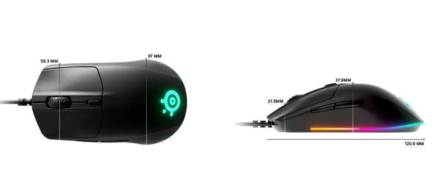 เมาส์ SteelSeries Rival 3 Gaming Mouse สเปค