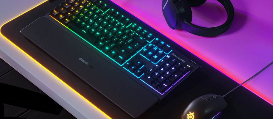 คีย์บอร์ด SteelSeries Apex 3 RGB Mechanical Gaming Keyboard