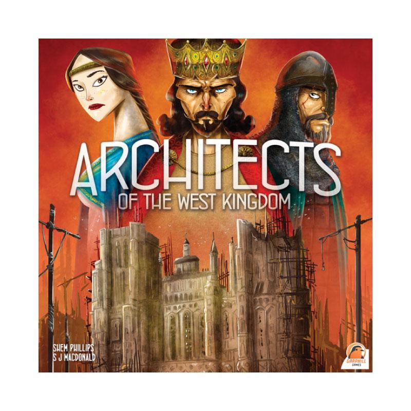 บอร์ดเกม Architects of the west kingdom Board Game