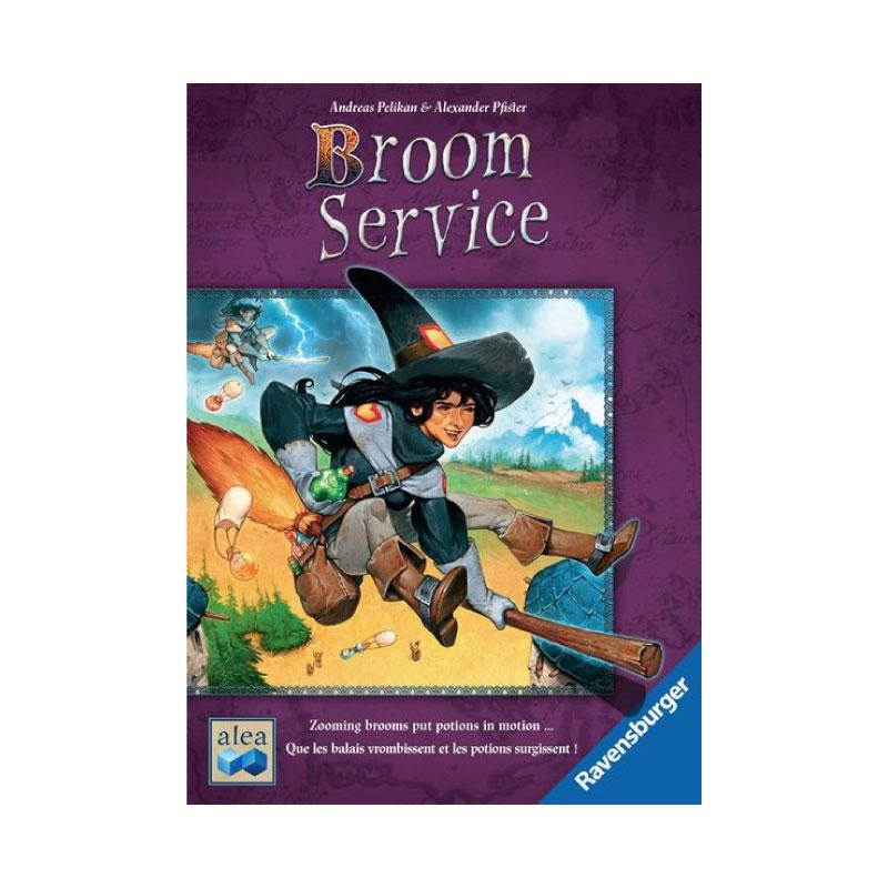 บอร์ดเกม Broom Service Board Game